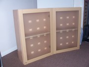 CABINETS DISPLAY in beech